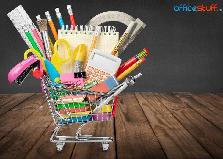 OfficeStuff.ro: Rechizitele esențiale în prima zi de școală costă, în medie, 350 de lei