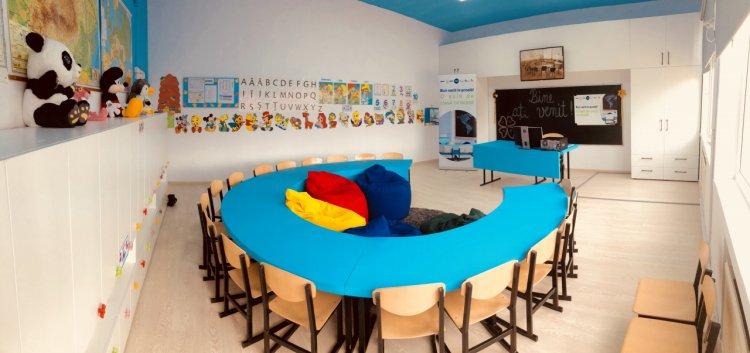 P&G şi designerul Adela Pârvu au transformat o sală de clasă în a doua casă pentru copiii din Rași, Ialomiţa