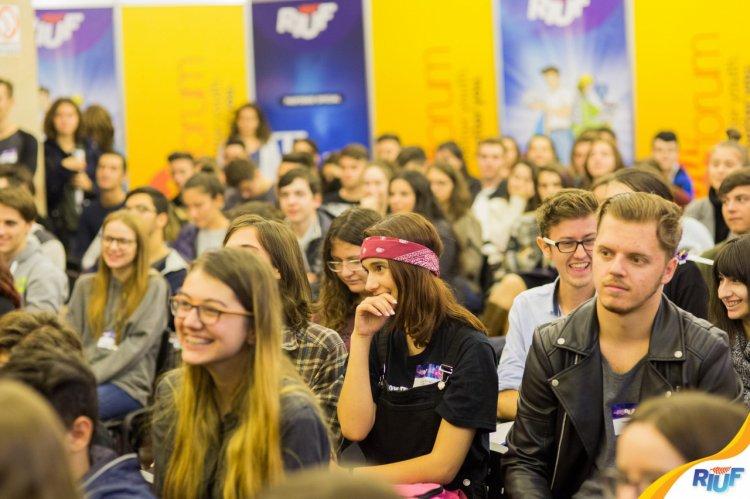 Educatia si orientarea in cariera pe intelesul tuturor, la conferinta RIUF YouForum, pe6-7octombrie