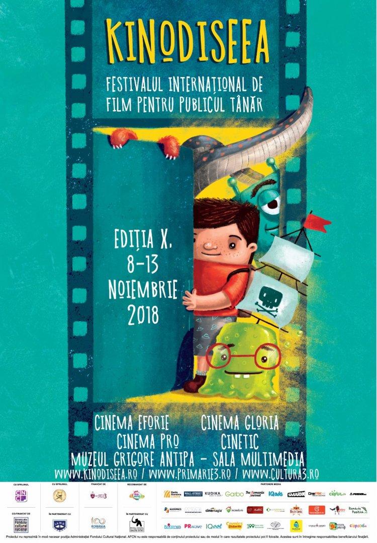 Cele mai bune filme pentru copii la editia aniversara KINOdiseea