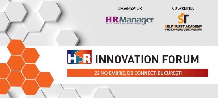 HR Innovation Forum – 22 noiembrie 2018, Bucuresti