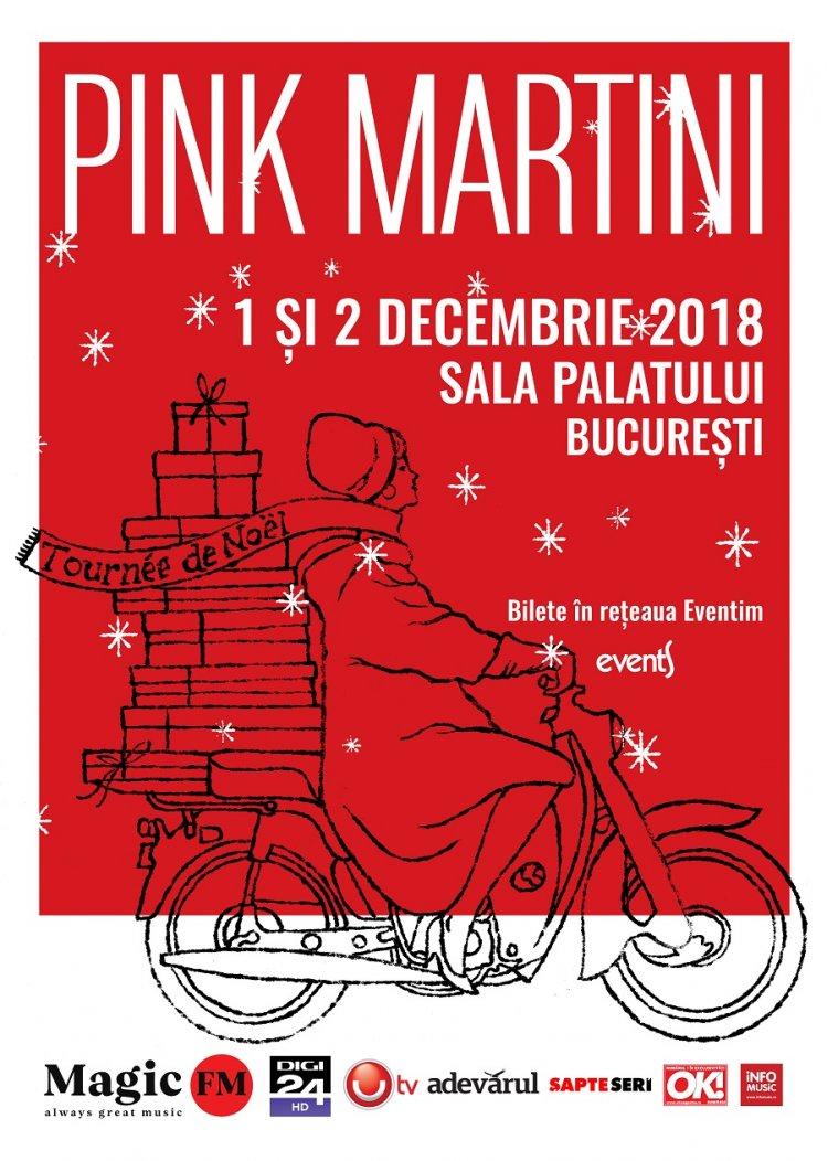 Deschidem sezonul de iarna la concerte: Pink Martini revine la Bucuresti pe 1 si 2 decembrie 2018, cu o colectie speciala de can