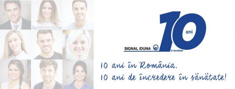 Signal Iduna - 10 ani de grijă pentru sănătatea asiguraților noștri