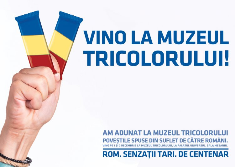 De Centenar, ROM deschide Muzeul Tricolorului