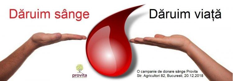 DARUIM SANGE - DARUIM VIATA, un altfel de team-building Provita