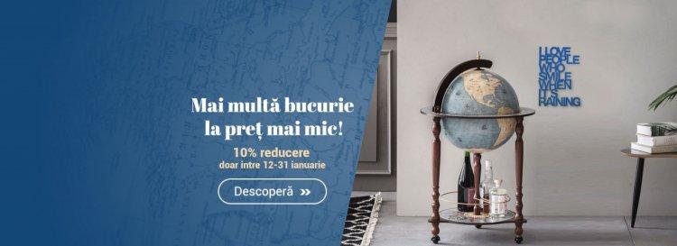 In ianuarie, pe iLUX.ro ai mai multa bucurie la pret mai mic!