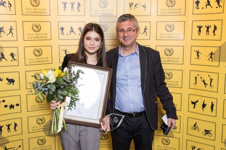 Sectiunea Speranțe a Galei Trofeelor Alexandrion va fi prezentată de Elena Chiriac