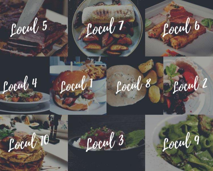 Topul restaurantelor din București (2019) - de la Crêpes la Burgeri de Cangur