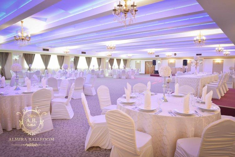 Almira Ballroom București în Trend pentru nuntă și botez în 2019