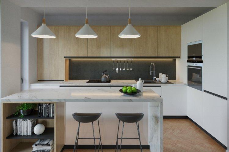 STEJERIS – dezvoltare premium pe Drumul Poienii Brasov cu apartamentele livrate cu bucatarii KUXA