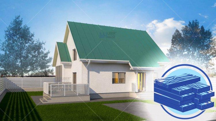 Avantajele construcțiilor de case pe structură metalică sau din lemn