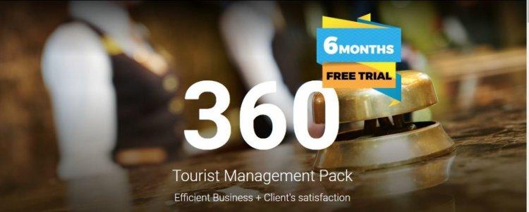 360 Tourist Management Pack, softul internațional de gestiune completă pentru hoteluri și pensiuni