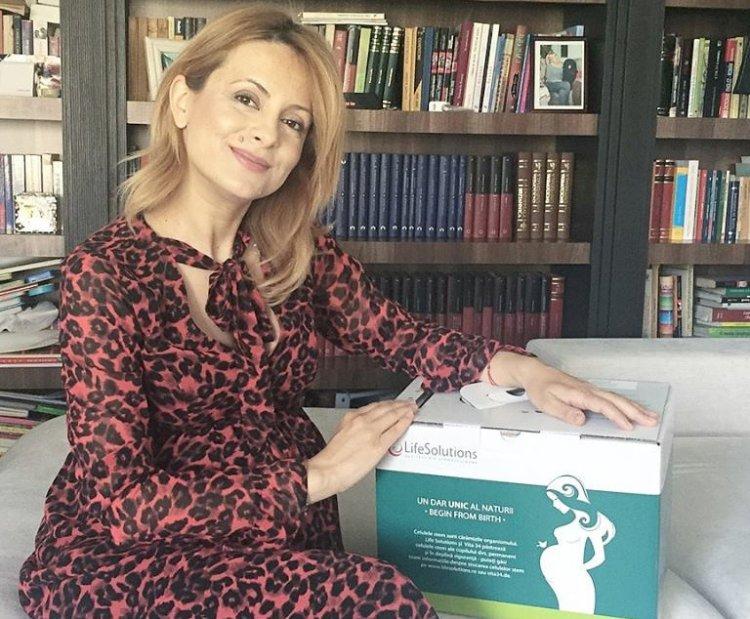 Jurnalista Simona Gherghe a ales kitul de celule stem de la Life Solutions