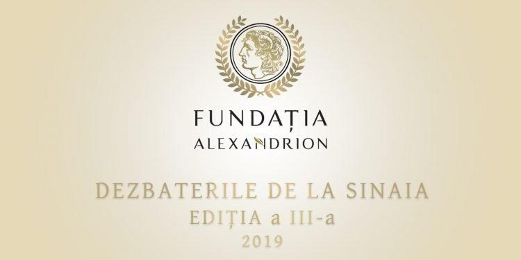 Fundația Alexandrion organizează cea de-a treia ediție a Dezbaterilor de la Sinaia