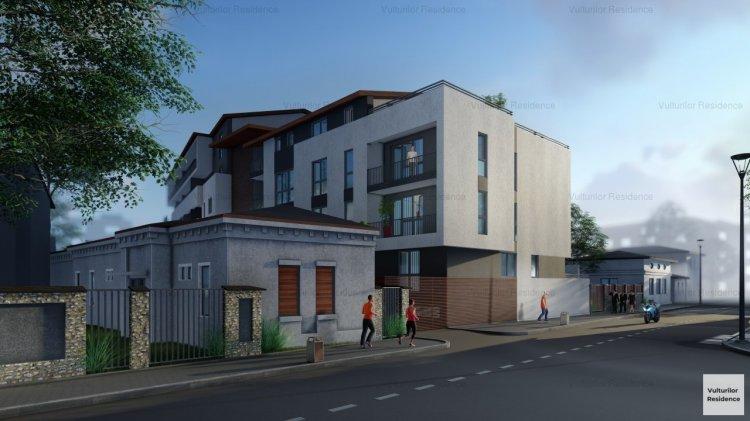 Dezvoltatorul VBI investește în construcția Vulturilor Residence, un imobil ECO amplasat în centrul capitalei