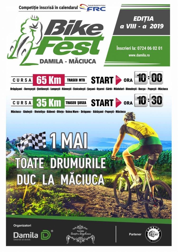 Competiția de ciclism Bike Fest Damila Măciuca, parte din responsabilitatea socială a companiei