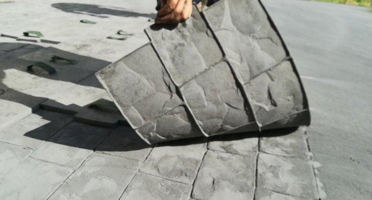 Cum putem obtine alei din beton decorativ foarte estetice?