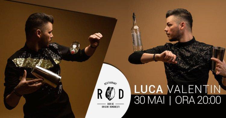 Bartender Flair Show cu Valentin Luca la Cluj