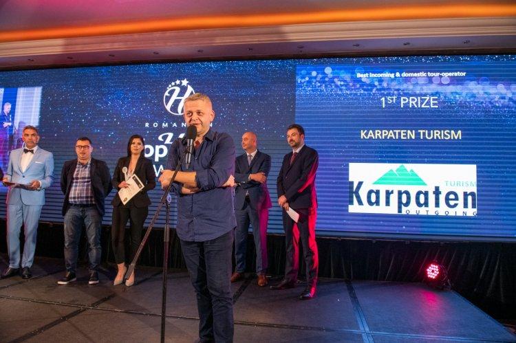 Karpaten Turism a câștigat două premii importante la TopHotel Awards 2019