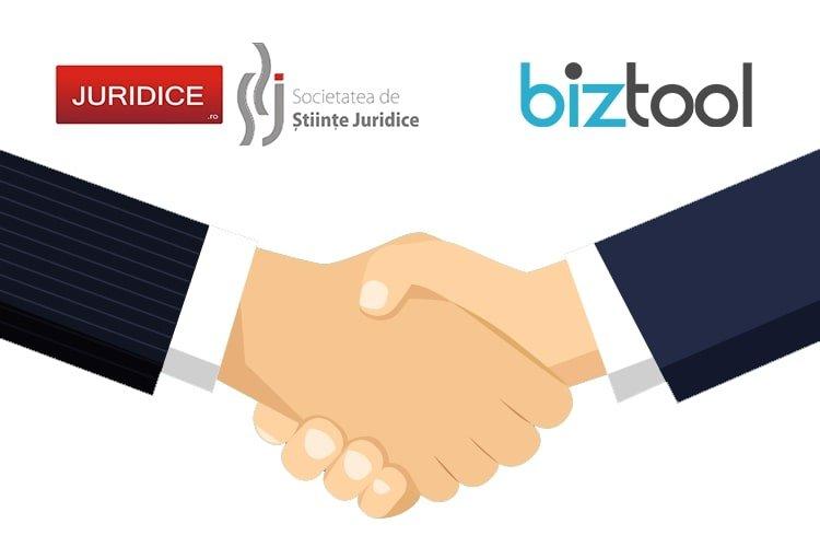 BizTool.ro și JURIDICE.ro demarează un parteneriat strategic pentru consolidarea comunității antreprenoriale din România