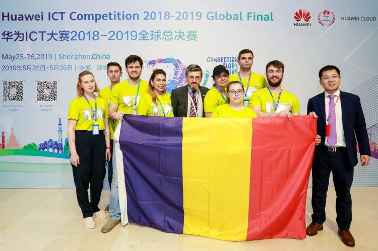 Studenții români s-au afirmat la finala globală a competiției Huawei ICT 2018 - 2019