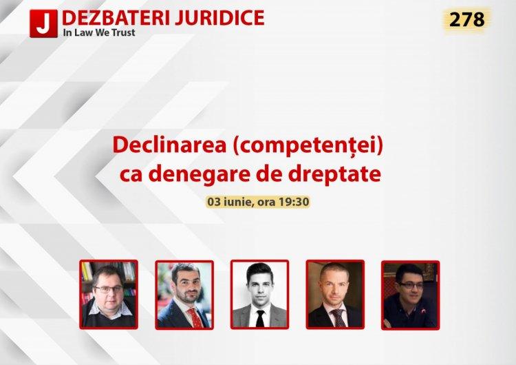 Declinarea (competentei) ca denegare de dreptate