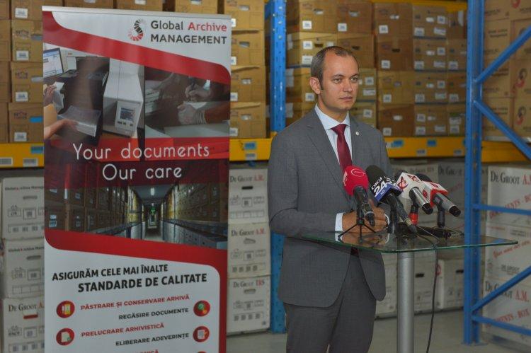 Investiții de aproape jumătate de milion de euro în cea mai sigură arhivă din România