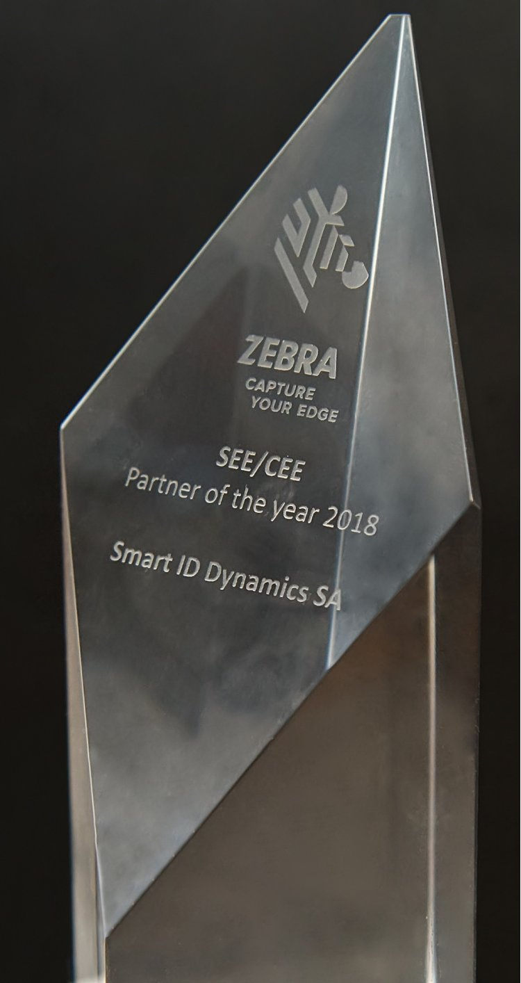 "Smart ID Dynamics este ""Partner of the year 2018"" pentru SEE & CEE la Summit-ul Regional al Partenerilor Zebra Technologies"