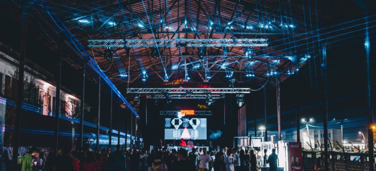 Festival de muzica techno la Sighisoara