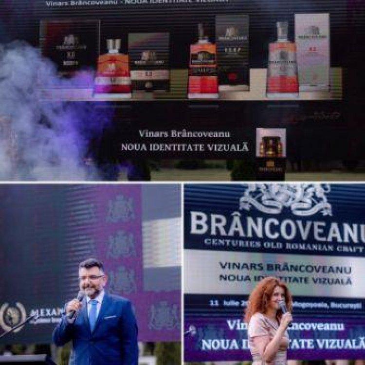 VINARSUL BRÂNCOVEANU XO, VSOP, VS ȘI-A DEZVĂLUIT NOUA IDENTITATE VIZUALĂ ȘI ÎN ROMÂNIA, LA PALATUL MOGOȘOAIA