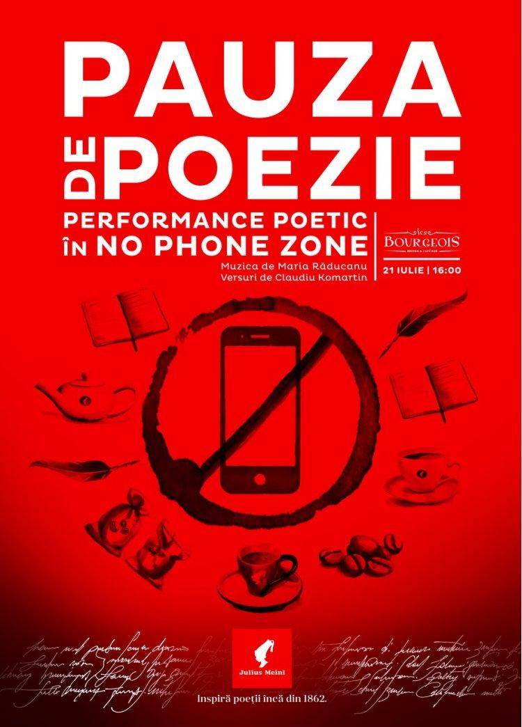 Julius Meinl te invită la un performance inedit de poezie și jazz