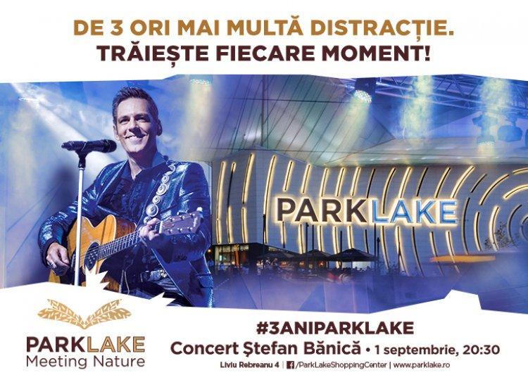 În septembrie ai de trei ori mai multă distracție, la ParkLake Shopping Center!