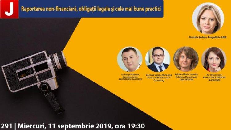 Raportarea non-financiara - obligatii legale si cele mai bune practici