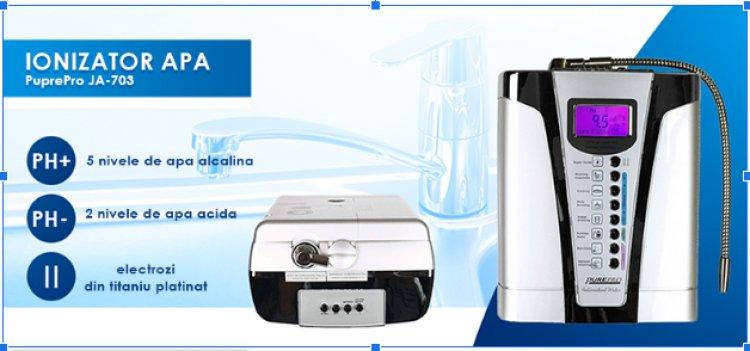 Ce este un ionizator de apă și ce beneficii îți aduce?