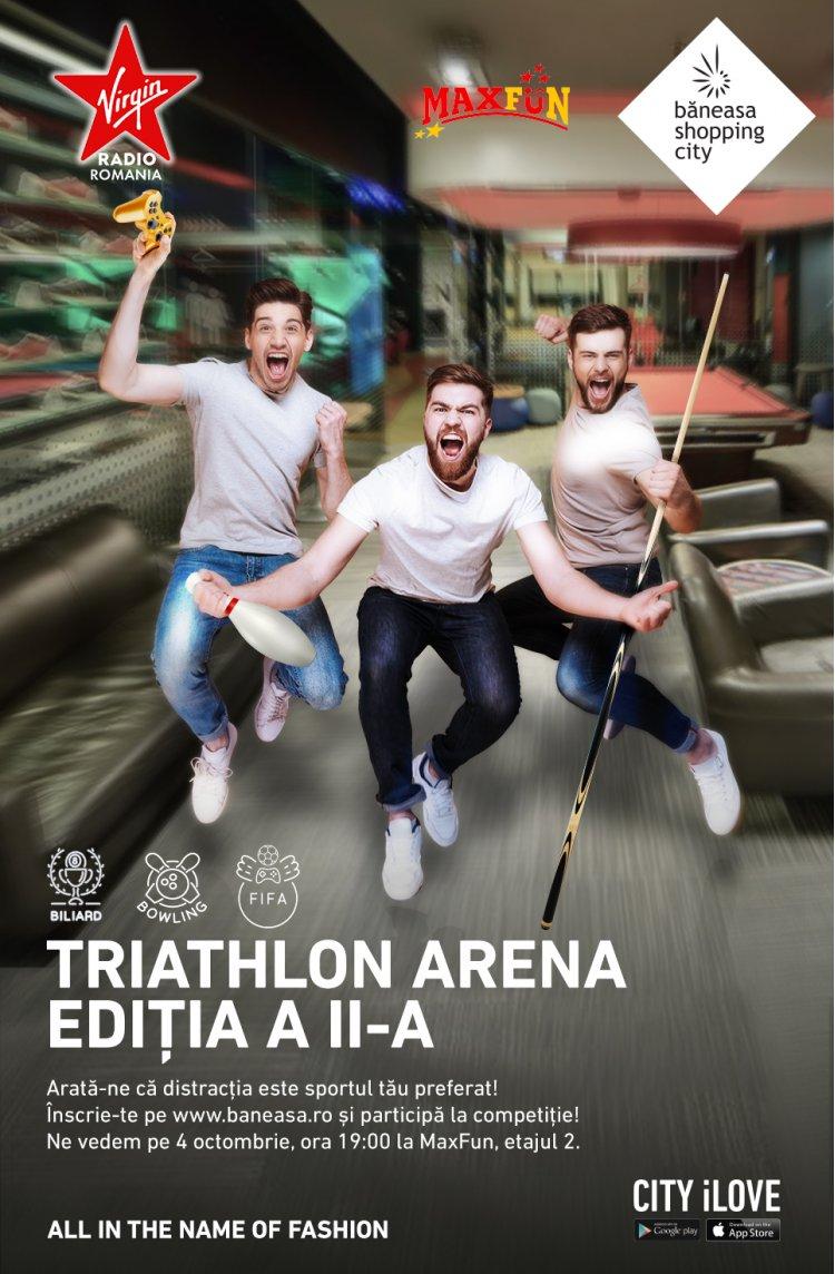 Începe Triathlon Arena - o competiție de FIFA20, biliard și bowling, în Băneasa Shopping City