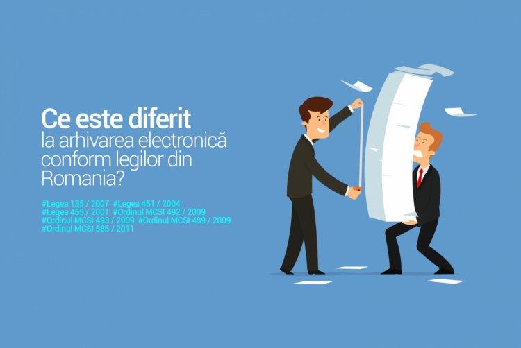 Ce inseamna arhivarea electronică conform legii?
