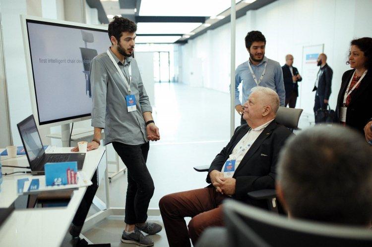 MyTesla - Primul scaun de birou Smart dezvoltat în România.
