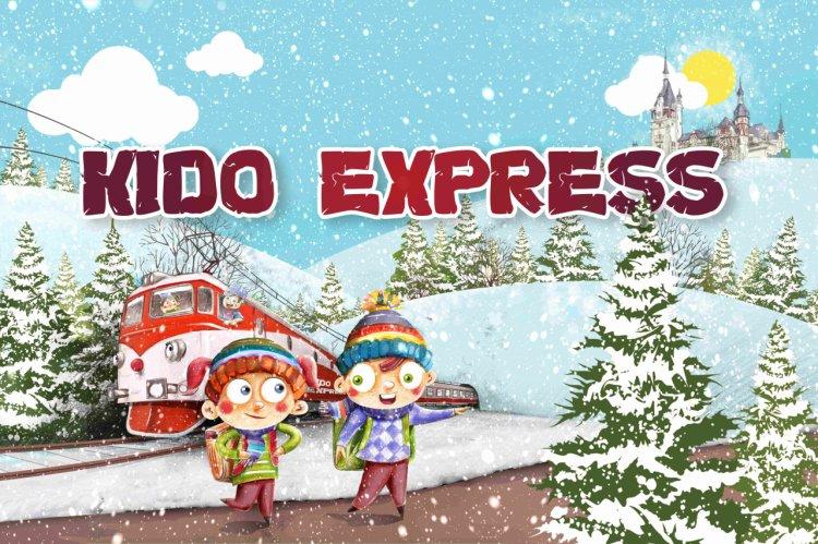 Moș Crăciun vine din nou cu trenul copilăriei, în 14 decembrie!