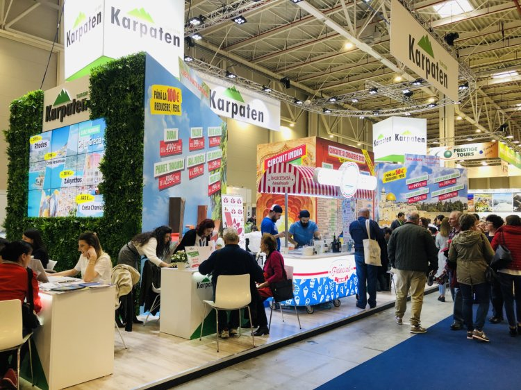 Vânzări record la Târgul de Turism al României. Karpaten Turism a vândut vacanțe în valoare de 2,2 milioane de euro. Turc