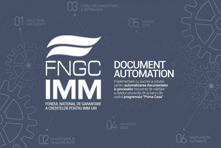 Document Automation - Implementare cu succes la Fondul Naţional de Garantare a Creditelor pentru IMM-uri