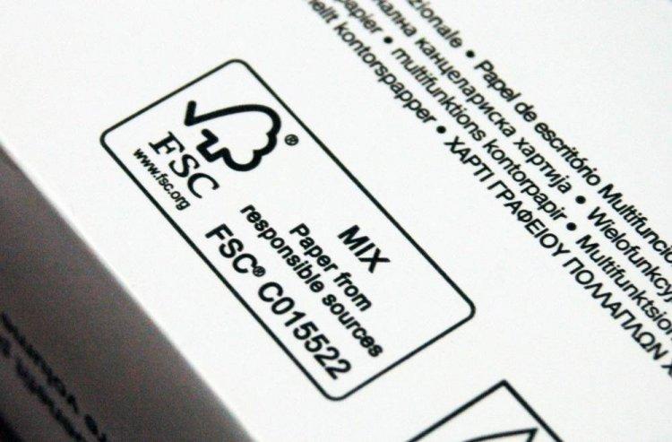 Certificarea FSC a hartiei/cartonului