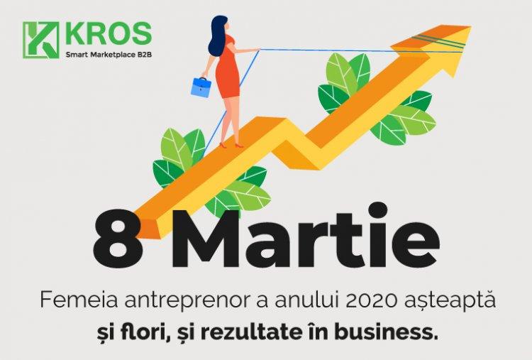 Femeia antreprenor a anului 2020 așteaptă și flori, și rezultate în business