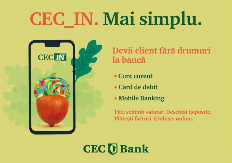 CEC Bank lansează un serviciu inovator, oricine poate deveni client al băncii direct de pe telefonul mobil