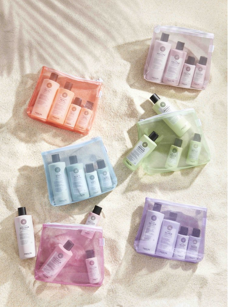 Maria Nila lanseaza Beauty Bags 100% vegan. 100% reciclat.