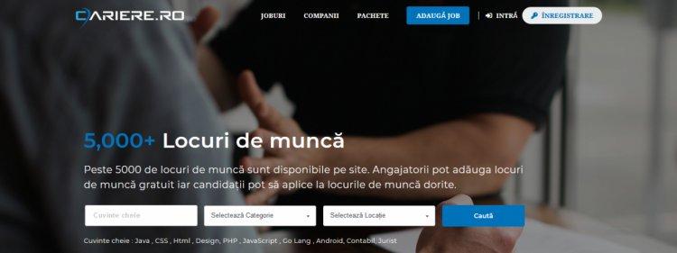 Cariere.ro - Locuri de munca in Romania si Joburi in Strainatate