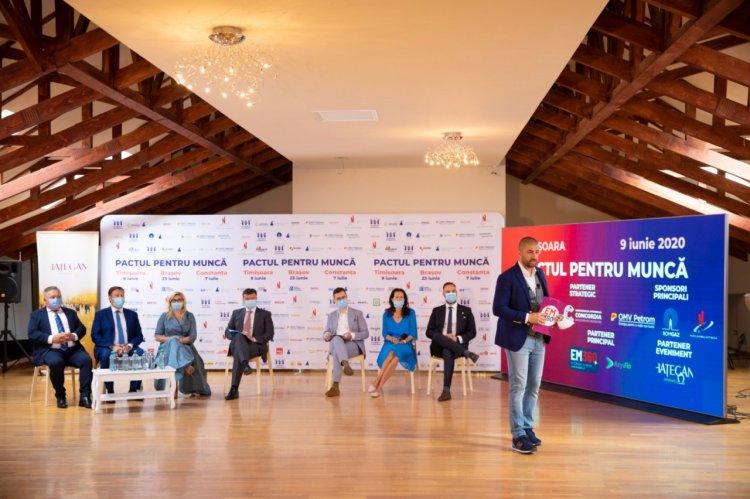 PACTUL PENTRU MUNCĂ – ÎMPREUNĂ RECONSTRUIM ROMÂNIA