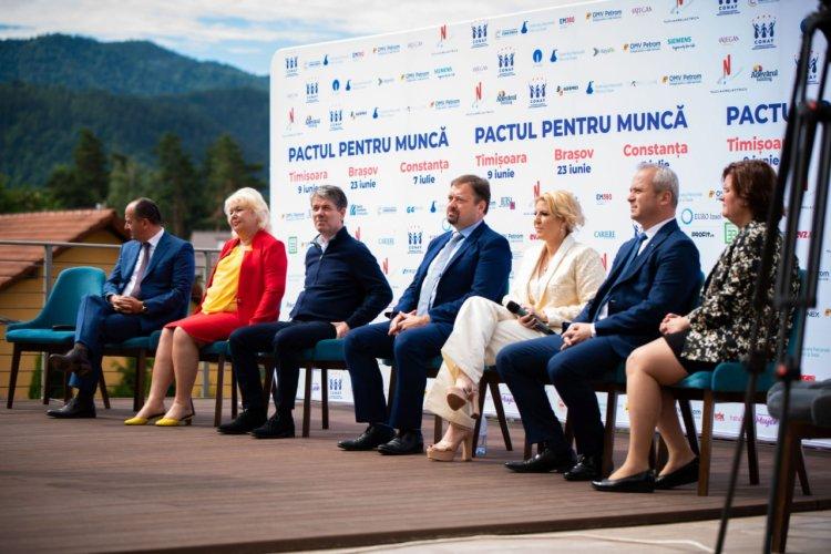PACTUL PENTRU MUNCĂ – ÎMPREUNĂ RECONSTRUIM ROMÂNIA!