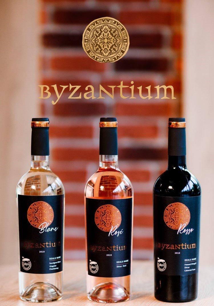 Gama de vinuri Byzantium, produsă de Crama THE ICONIC ESTATE, își dezvăluie noua identitate vizuală