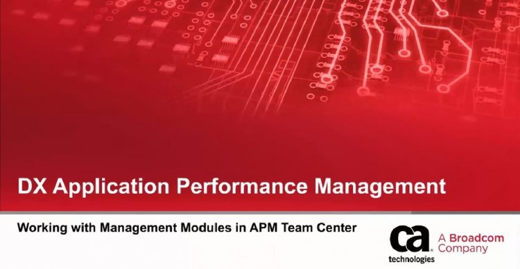 Ultima generație de DX Application Performance Management