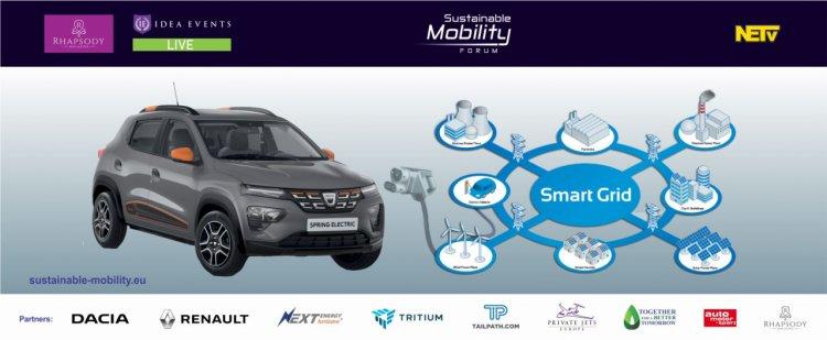 Noutati despre Dacia Spring si statiile de incarcare TRITIUM